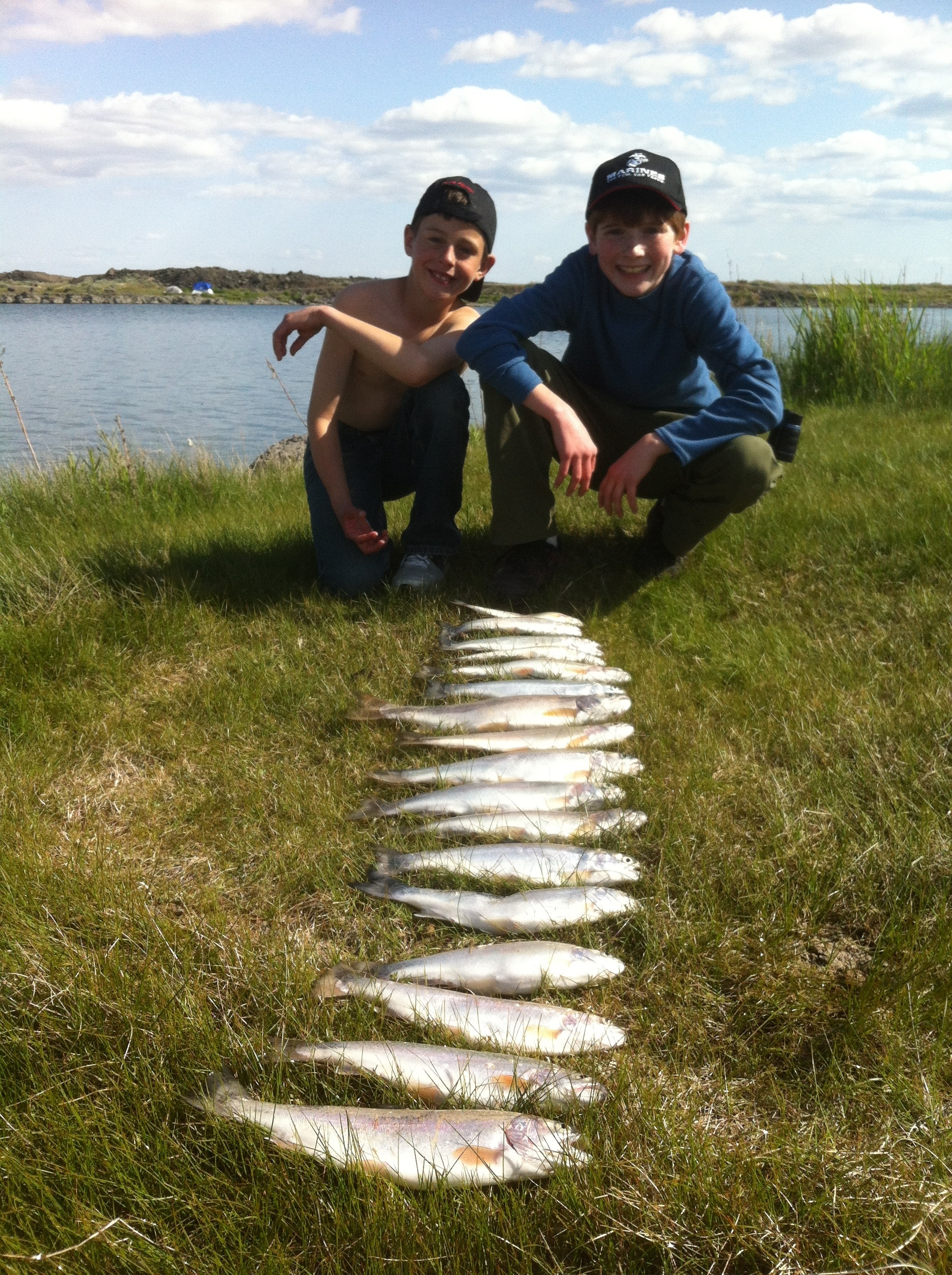 The latest greatest fishing report bonner 39 s outdoor for Hunting and fishing forecast